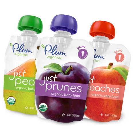 Plum Organics - Just FruitsRedesign - The Dieline - | Eco Branding | Scoop.it