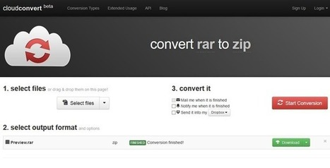 4 Services To Convert RAR Files To Zip Online For Free | Time to Learn | Scoop.it