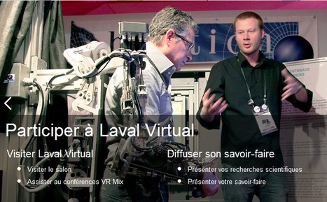 "Laval Virtual | La ""Réalité Augmentée"" (Augmented Reality [AR]) 