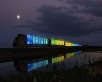 Train Converted Into Travelling Collaborative Art Gallery - PSFK | Idées d'ailleurs | Scoop.it