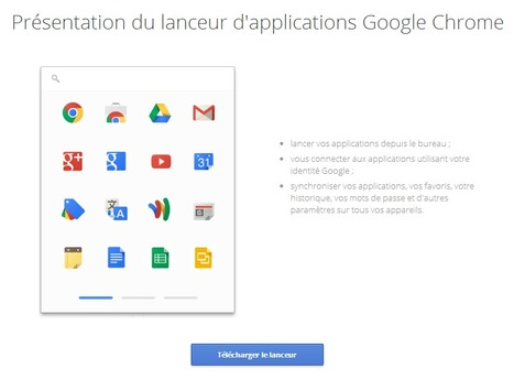 Lanceur d'applications Google Chrome | formation 2.0 | Scoop.it