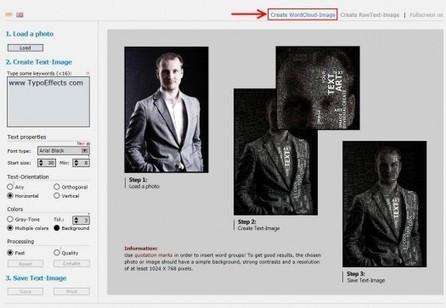 Des nuages de mots en images, Typo Effects | Ballajack | Stratégie digitale et médias sociaux | Scoop.it