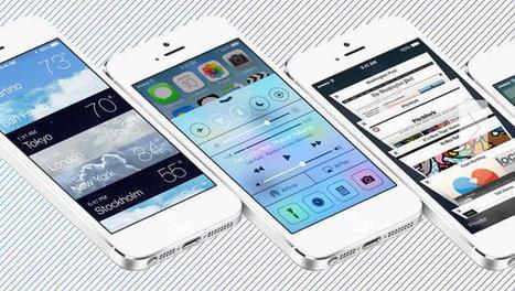 """Apple's iOS 7 Redefines Industrial Design Through """"Evil"""" Skeuomorphism   design industriel   Scoop.it"""