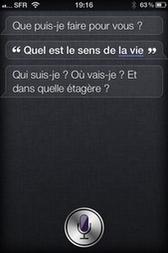 Avec Siri, l'iPhone devient (presque) intelligent - Nouveau Monde - High Tech - France Info | L'Intelligence Artificielle | Scoop.it