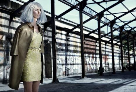 Koray Parlak Shoots Glamour with Edge for Elele Magazine November 2012 | Imatge | Scoop.it