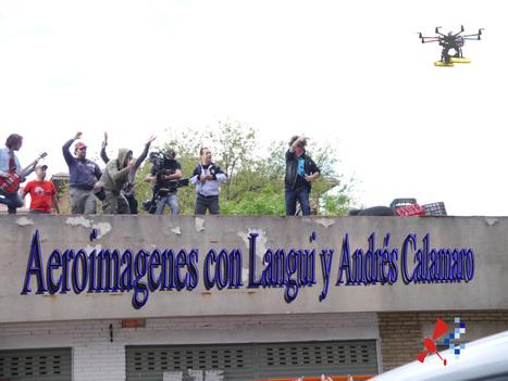 Aeroimágenes, con Langui y Andrés Calamaro. | AEROIMAGENES | Scoop.it