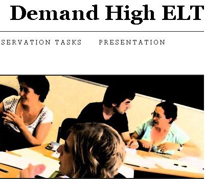 Demand High ELT | The Durham English Language Teacher | Scoop.it