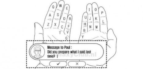 Samsung patenta un nuevo teclado que utiliza las propias manos | Samsung mobile | Scoop.it