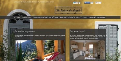 Interview # 17 : Aurélie Ravier - Pari(s) sur la Corse | Elle & Freelance | Scoop.it