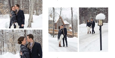 Wedding in a Winter Wonderland? We've Got You Covered! | Wedding albums | Scoop.it