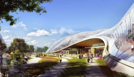 Here are Google's plans for a crazy new campus | LibertyE Global Renaissance | Scoop.it