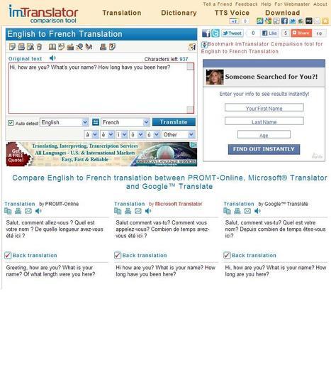 Compare Online Translators   online translation   Scoop.it