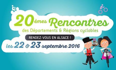 « 20 ans ! », les Rencontres DRC en Alsace : programme et inscriptions - Départements & Régions Cyclables   Politiques cyclables des territoires   Scoop.it