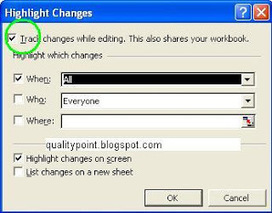 How to keep Track of Changes in Excel? |QualityPoint Technologies | Technology's | Scoop.it