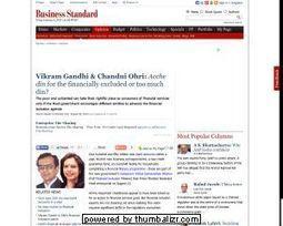 Vikram S Gandhi making a social impact through impact investing and philanthropy | Ankujkumar | Scoop.it