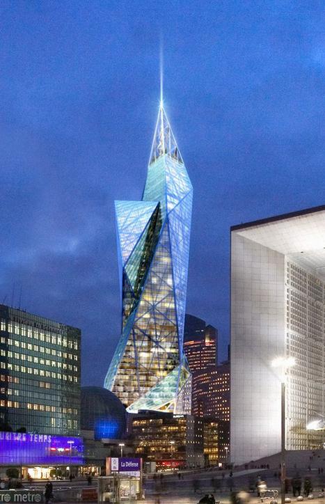 Vibrant Tour Signal La Defense, Competition Proposal For Paris - eVolo | Architecture Magazine | Architecture MIPIM | Scoop.it