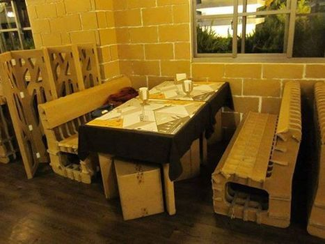A Restaurant Made Out Of Cardboard in Taiwan | How to give investigations by PI | Scoop.it