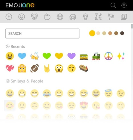 EmojiOne | The Open Emoji Standard | Education Technology - theory & practice | Scoop.it