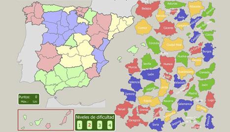 Mapas Interactivos: Aprender geografía mediante juegos animados - aulaPlaneta | innovación docente | Scoop.it