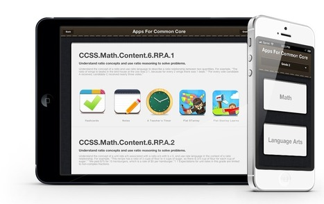 Apps For Common Core, A common core standards guide and app suggestion engine powered by Flatter World Inc | Getting Appy with the Common Core | Scoop.it