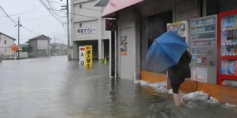 Le typhon Halong repart en mer après avoir semé le chaos au Japon   Japan Tsunami   Scoop.it