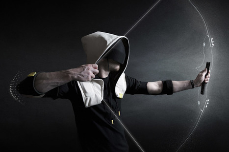 Artefact's Shadow hoodie immerses wearers in virtual reality | cool stuff from research | Scoop.it