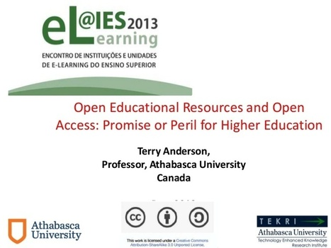 Open Educational Resources and Open Access: Promise or Peril for Hi... | Learning at Conferences | Scoop.it