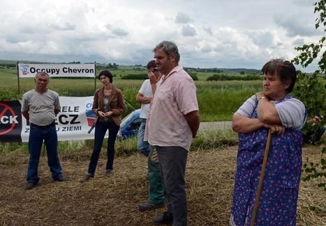 Fracking in Polen - Kleines Dorf kämpft gegen große Firma   Occupy Chevron   Scoop.it