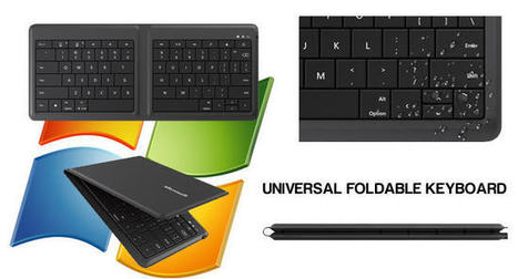 Microsoft's Universal Foldable Keyboard: work easily while travelling | Stock News Desk | Scoop.it