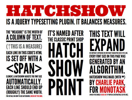 10 jQuery Plugins to Enhance Your Web Typography | jQuery Plugins | Scoop.it