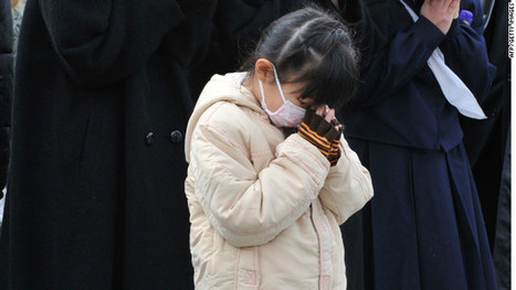Prayers, tears as Japan marks 1 year since massive earthquake | Highlights News Of The World | Scoop.it
