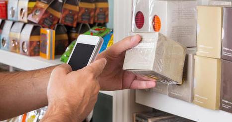 L'usage du mobile par les Français en magasin reste encore limité   L'Atelier : Accelerating Business   How digital builds our future   Scoop.it