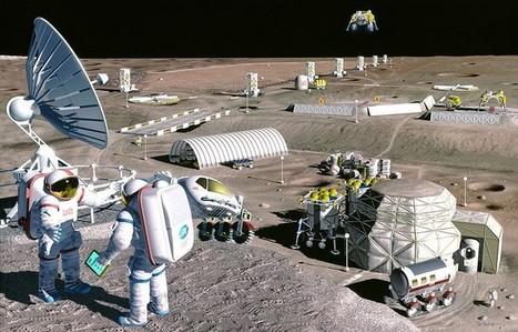 Researchers build objects with 3D printing using simulated moon rocks | Randoms | Scoop.it