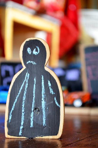 Chalk Board Blocks - picklebums.com | Learn through Play - pre-K | Scoop.it