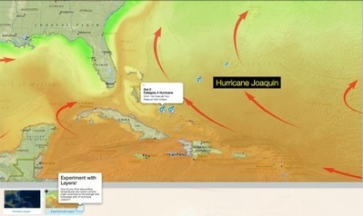 Joaquin Wreaks Havoc | Nat Geo Education Blog | Educational technology , Erate, Broadband and Connectivity | Scoop.it