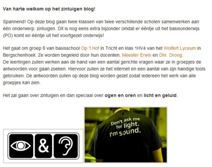 Samenwerking tussen groep 8 en HAVO 1! | Educatief Internet - Gespot op 't Web | Scoop.it