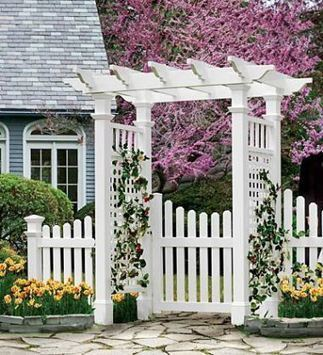 2 Hot and Decorative Fencing Ideas- Post and Rail Fence | Do Home Improvement Yourself | Scoop.it