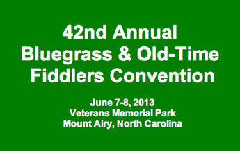 Mt. Airy Fiddlers Convention report | Acoustic Guitars and Bluegrass | Scoop.it