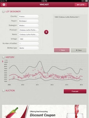 Vincast uncorks #wine data to aid collectors' investment portfolios   Vitabella Wine Daily Gossip   Scoop.it