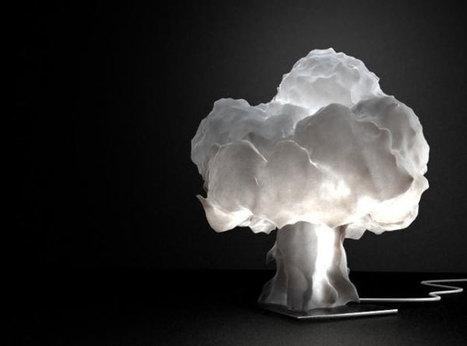 Mushroom Cloud Shaped Nuke Lamp   Art, Design & Technology   Scoop.it