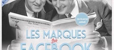 Les marques sur Facebook - infographie | réseaux sociaux et pédagogie | Scoop.it
