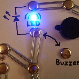 Build a Simple Circuit from a Pizza Box (No Soldering) | The 21st Century Classroom: Technology, Teaching Strategies, PD | Scoop.it