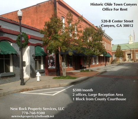 Historic Olde Town Conyers - Office for Rent | Building the Digital Business | Scoop.it