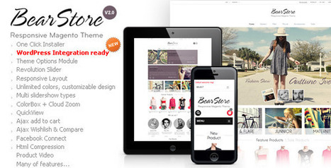 BearStore - Responsive Magento Theme (Magento) Download | PrestaShop Development | Scoop.it