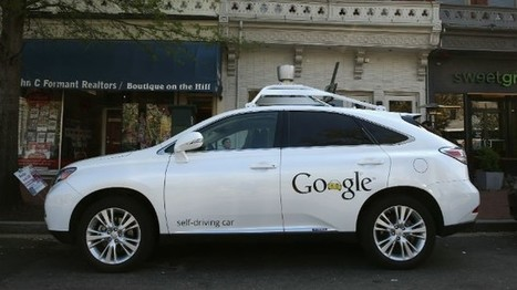 Google gets a win on self-driving cars | Automated Vehicle Insights Selected for You by CATES | Scoop.it