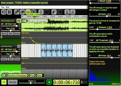 Beautiful Audio Editor | Elearning and Mlearning Topics | Scoop.it