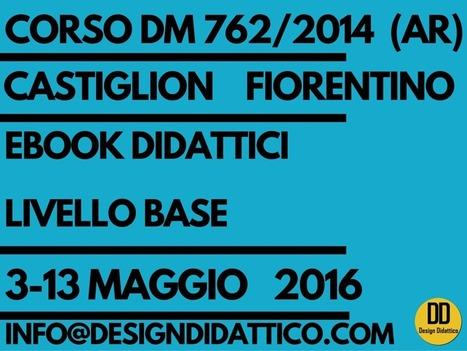 Corso di Formazione PNSD (ex DM 762/2014): Ebook Didattici BASE 3 e 13 Maggio 2016 | Lim | Scoop.it