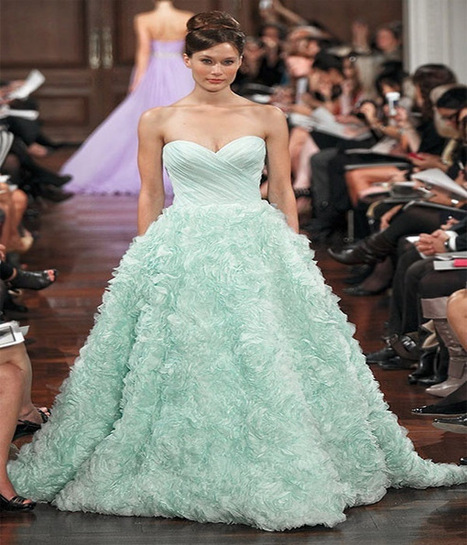 colorful wedding gown 2014 | Zquotes | Hairstyles 2014 | Scoop.it