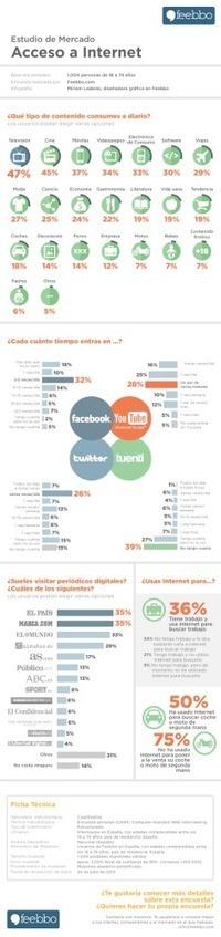 Estudio de mercado sobre acceso a Internet (España) #infografia #infographic | Links sobre Marketing, SEO y Social Media | Scoop.it