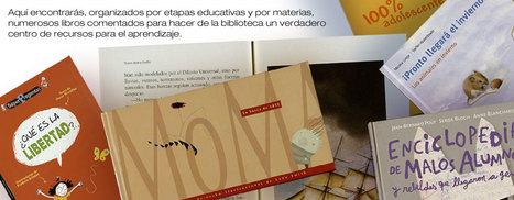 ¿Qué libros? | Red Profesional de Bibliotecas Escolares de Granada | Scoop.it
